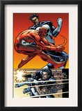 Daredevil Vs. Punisher 5 Cover: Daredevil and Punisher Prints by Dave Lapham