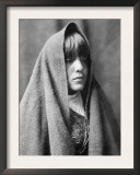 Tom Poqui, Tewa Woman Posters by Edward S. Curtis