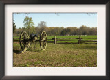 Confederate Artillery Aimed at Peach Orchard Next to Manse George&#39;s Cabin Art