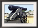 Civil War Cannon at Fort Moultrie Aimed at Fort Sumter in Charleston Harbor, South Carolina Prints