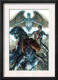 Dark X-Men 1 Cover: Mystique, Dark Beast and Omega Prints by Simone Bianchi