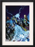 The Order 9 Cover: Anthem, Veda and Aralune Prints by Barry Kitson