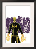 The Immortal Iron Fist 6 Cover: Iron Fist, Randall and Orson Charging Prints by David Aja