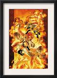 Ultimate X-Men 83 Cover: Cyclops, Marvel Girl and Nightcrawler Posters by Yanick Paquette