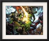 Incredible Hulk 607 Group: Thor, Skaar, Ronin and Red She-Hulk Posters by Paul Pelletier