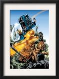 Marvel Adventures Fantastic Four 5 Group: Mr. Fantastic Poster by Manuel Garcia
