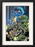 Fantastic Force 3 Cover: Ego, Hulk and Wolverine Art by Bryan Hitch