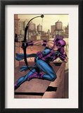 Marvel Adventures Super Heroes 14 Cover: Hawkeye Prints by David Williams
