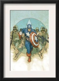 Captain America Theater of War: To Soldier On 1 Cover: Captain America Print by Phil Noto