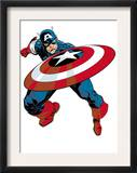 Captain America V4, 27 Cover: Captain America Posters by Dave Johnson