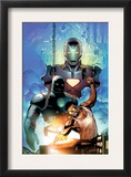 Iron Man: Requiem One Shot Cover: Stark and Tony Poster by Sean Chen