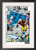 X-Men 1 Group: Beast, Wolverine and Psylocke Prints by Jim Lee