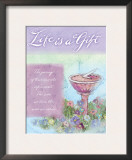 Life is a Gift Posters by Flavia Weedn