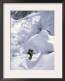 Decent from Ice Fall, Everest Prints by Michael Brown