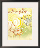 Life&#39;s Music Prints by Flavia Weedn
