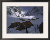 Tents at Everest Southside, Nepal Prints by Michael Brown