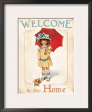 Welcome to our Home Art by Bessie Pease Gutmann