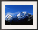 Panoramic View of the Eiger, Monch and Jungfrau, Switzerland Prints by Jeremy Walker