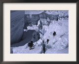 Climbing Mt. Everest, Nepal Prints by Michael Brown
