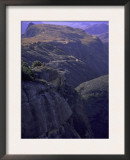 Looking Down at Climbers on Mountain Top, Madagascar Prints by Michael Brown