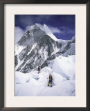 On the Way to the Top, Nepal Prints by Michael Brown