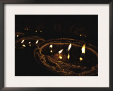 Candles, Nepal Prints by Michael Brown