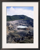 Looking into Poas Crate, Poas Volcano National Park, Costa Rica Art by Juan Manuel Borrero