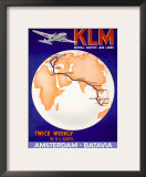 KLM Royal Dutch Airlines Poster Posters
