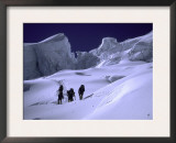 Climbing Everest, Nepal Prints by Michael Brown