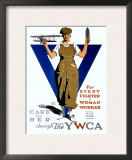 For Every Fighter a Woman Worker/United War Work C Poster