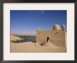 Aga Khan Mausoleum on River Nile, Aswan, Egypt Print by Staffan Widstrand
