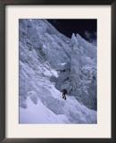 Mounaineering in Nepal on Lhotse Prints by Michael Brown
