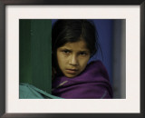 Young Girl's Face, Nepal Prints by David D'angelo