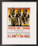 WWII AAF Cadet Training Poster Poster