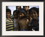 Smiling Children, Indonesia Art by Michael Brown