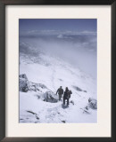 Winter Climb of South Arapahoe Peak, Colorado Posters by Michael Brown