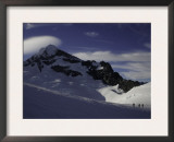 Mountaineering on Mt. Aspiring, New Zealand Print by David D'angelo
