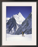 Mount Khumbutse, Nepal Poster by Michael Brown