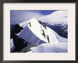 Close up of Climbers on Mt. Aspiring, New Zealand Prints by Michael Brown
