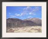 Black Mountains Landscape, Death Valley, California, USA Posters by David Kjaer
