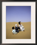Children to the Sky, Morocco Prints by Michael Brown