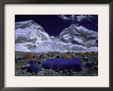 Base Camp at Lhotse, Southside of Everest, Nepal Prints by Michael Brown
