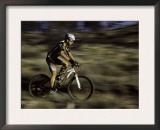 Background Zooms By, Mt. Bike Prints by Michael Brown