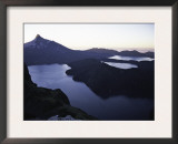 Twilight View Over Mountain Landscape, Chile Prints by Pablo Sandor