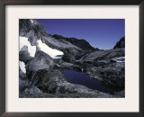 Mountain Lake with Snowfields, Chile Prints by Pablo Sandor
