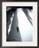 Ice Climbing, USA Posters by Michael Brown