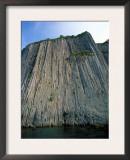 Stolbchaty (Column) Cape Basalt Columns, Kunashir Island, Kurilsky Zapovednik Russia Art by Igor Shpilenok