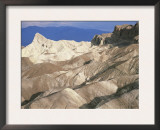 Zabriskie Point after Sunrise, Death Valley Badlands Landscape, California, USA Prints by David Kjaer