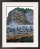 Stolbchaty (Column) Cape Basalt Columns, Kunashir Island, Kurilsky Zapovednik Russia Print by Igor Shpilenok