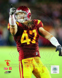Clay Matthews USC Trojans 2008 Action Photo
